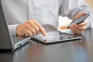 Pecoço do iPad